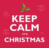 Keep Calm It's Christmas CD (CD-Audio)