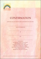 Confirmation Certificate (Pack of 10)