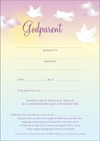 Godparent Certificate (Pack of 10)