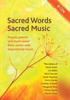 Sacred Words, Sacred Music CD (CD-Audio)