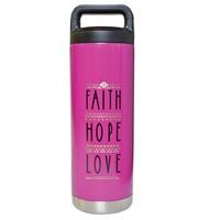 Faith ope Love Stainless Steel Bottle (General Merchandise)