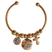 Faith Gear Faith Hope Love Women's Bracelet (General Merchandise)