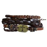 Faith Gear Guy's Bracelet - Gold Cross (General Merchandise)