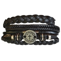 Faith Gear Guy's Bracelet - Crown Cross (General Merchandise)