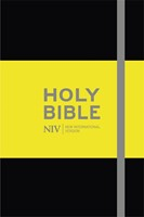 NIV Pocket Black Notebook Bible