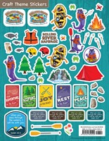 VBS 2018 Rolling River Rampage Craft Theme Stickers (Stickers)