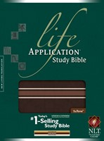 NLT Life Application Study Bible Tutone