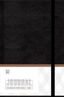 Ezra Journal, Black (Imitation Leather)