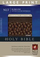 NLT Slimline Center Column Reference Bible, Compact Edition,