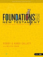 Foundations For Kids New Testament Bible Reading Plan (Paperback)