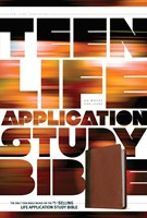 Teen Life Application Study Bible NLT (Leather Binding)