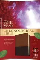 NLT One Year Chronological Bible Tutone Brown/Tan