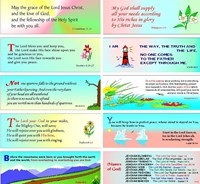 24 Assorted Evangelistic and Encouraging Bookmarks