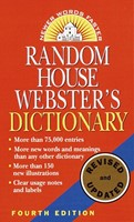 Random House Webster's Dictionary, Fourth Edition (Paperback)