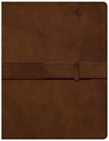 CSB Legacy Notetaking Bible, Tan Genuine Leather (Genuine Leather)