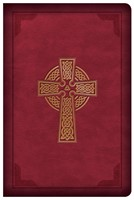 CSB Large Print Compact Reference Bible, Burgundy (Imitation Leather)