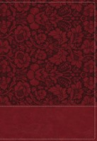 NKJV Wiersbe Study Bible, Burgundy, Red Letter, Indexed