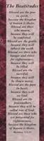 Beatitudes Bookmark (Pack of 25)