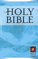 NLT Gift And Award Bible, Blue (Paperback)