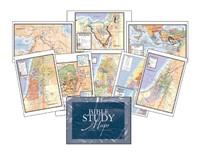 Bible Study Maps, Set Of 8 (Wall Chart)