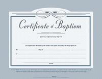 Baptism Certificate (Pack of 6) (Certificate)