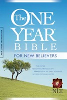 The NLT One Year Bible For New Believers