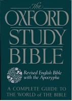 The Oxford Study Bible With Apocrypha (Paperback)