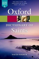 The Oxford Dictionary Of Saints (Paperback)