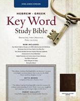 KJV Hebrew Greek Key Word Study Bible (Genuine Leather)