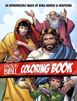 The Action Bible Colouring Pages (Paperback)