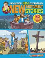Buck Denver's Bible Coloring Book (Paperback)