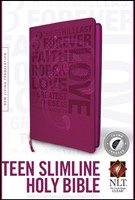 NLT Teen Slimline Bible: 1 Corinthians 13 (Imitation Leather)