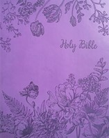 KJV Sword Study Bible, Giant Print, Purple, Indexed (Imitation Leather)