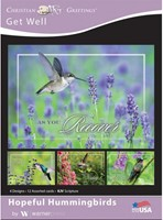 Boxed Card - Hopeful Hummingbirds (pack of 12)