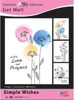 Boxed Card - Get Well (pack of 12)