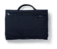 Tri-Fold Black Organizer, Large Book and Bible Cover