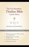 NRSV Go-Anywhere Thinline Bible Catholic Edition, Black (Bonded Leather)