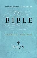 NRSV Go-Anywhere Thinline Bible, Catholic Edition (Paperback)