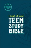 CSB Heart of God Teen Study Bible (Hard Cover)