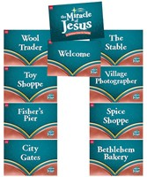 Miracle of Jesus Station Posters (Set of 9) (Poster)