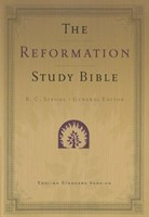 ESV Reformation Study Bible Condensed Edition, Black