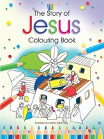 The Story of Jesus Colouring Book