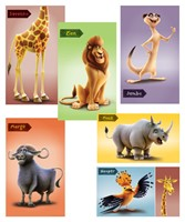 Giant Bible Memory Buddy Poster (set of 6) (Poster)