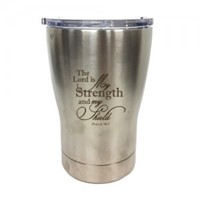 Tumbler Mug The Lord is My Strength (General Merchandise)