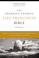 KJV Charles Stanley Life Principles Bible, Comfort Print