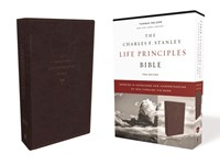 NKJV Charles Stanley Life Priciples Bible, Burgundy