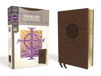NRSV Thinline Reference Bible, Brown (Imitation Leather)