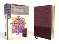 NRSV Thinline Reference Bible, Burgundy (Imitation Leather)