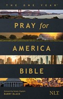 The One Year Pray for America Bible NLT (Softcover) (Paperback)