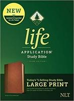 NLT Life Application Study Bible, Third Edition, Large Print (Imitation Leather)